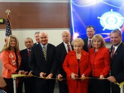 Public Safety Center Ribbon Cutting