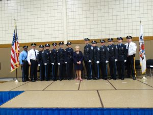 Corrections Graduation Photo