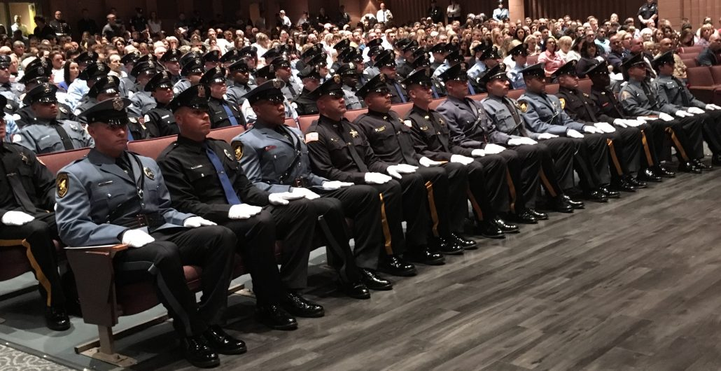 Police Recruits Graduate And Embark On A Career In Law